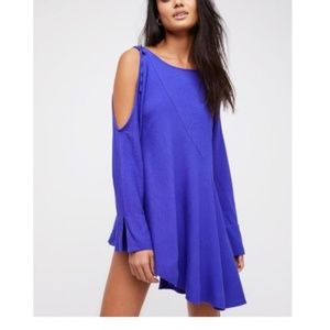 FREE PEOPLE Clear Skies Asymmetric Cold-Shoulder